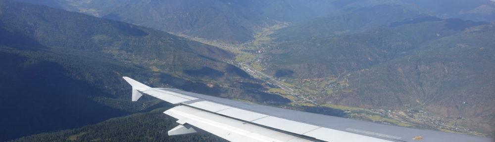 Arrival in Bhutan